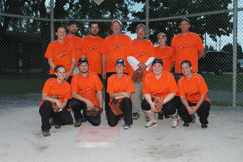 Peterborough Slo Pitch Association Inc Divisions